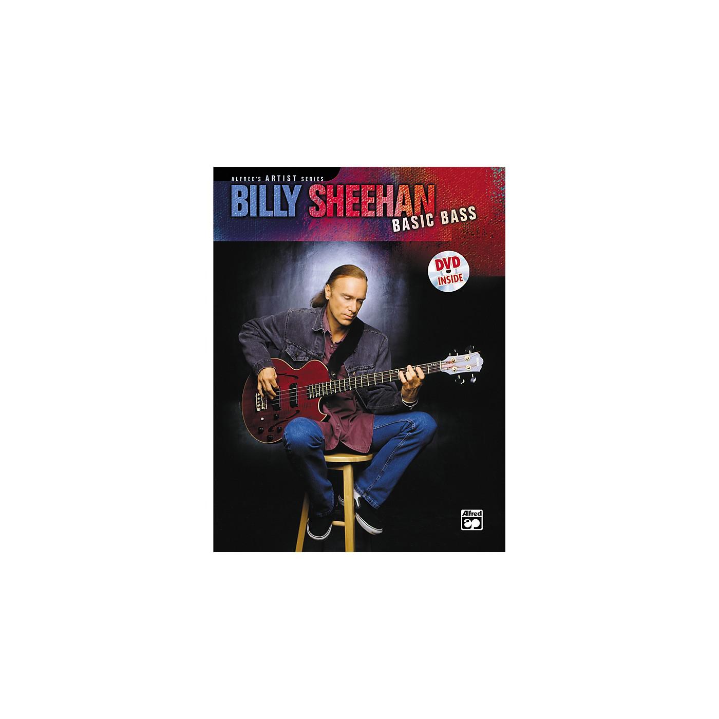 Alfred Billy Sheehan: Basic Bass (Book/DVD) thumbnail