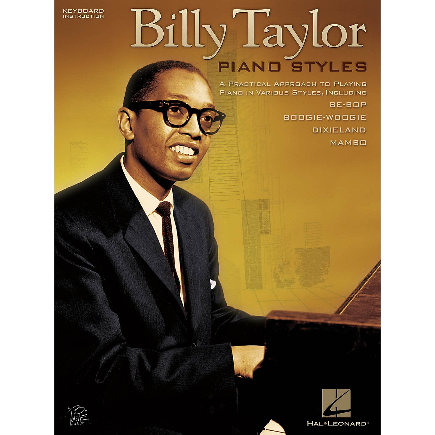 Hal Leonard Billy Taylor Piano Styles Keyboard Instruction Series Softcover Performed by Billy Taylor thumbnail