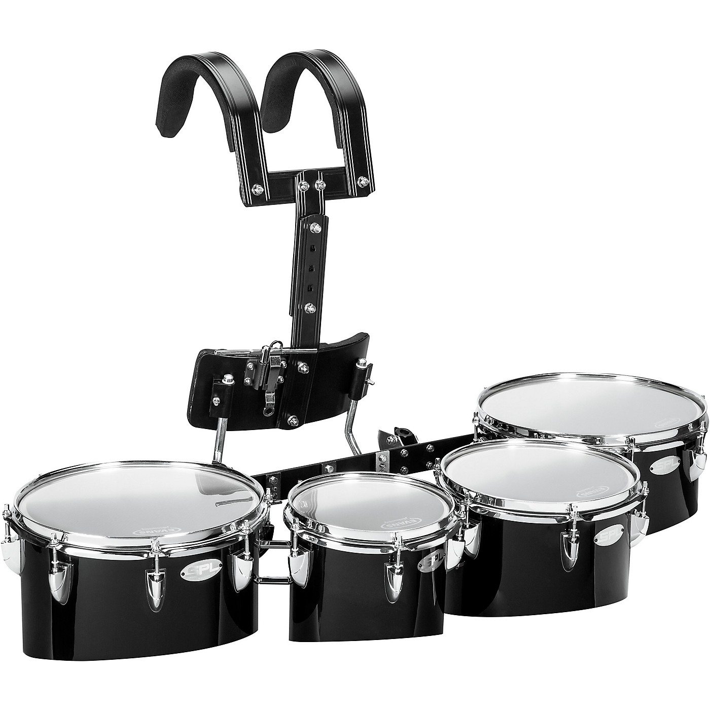 Sound Percussion Labs Birch Marching Quads with Carrier 8/10/12/13 thumbnail