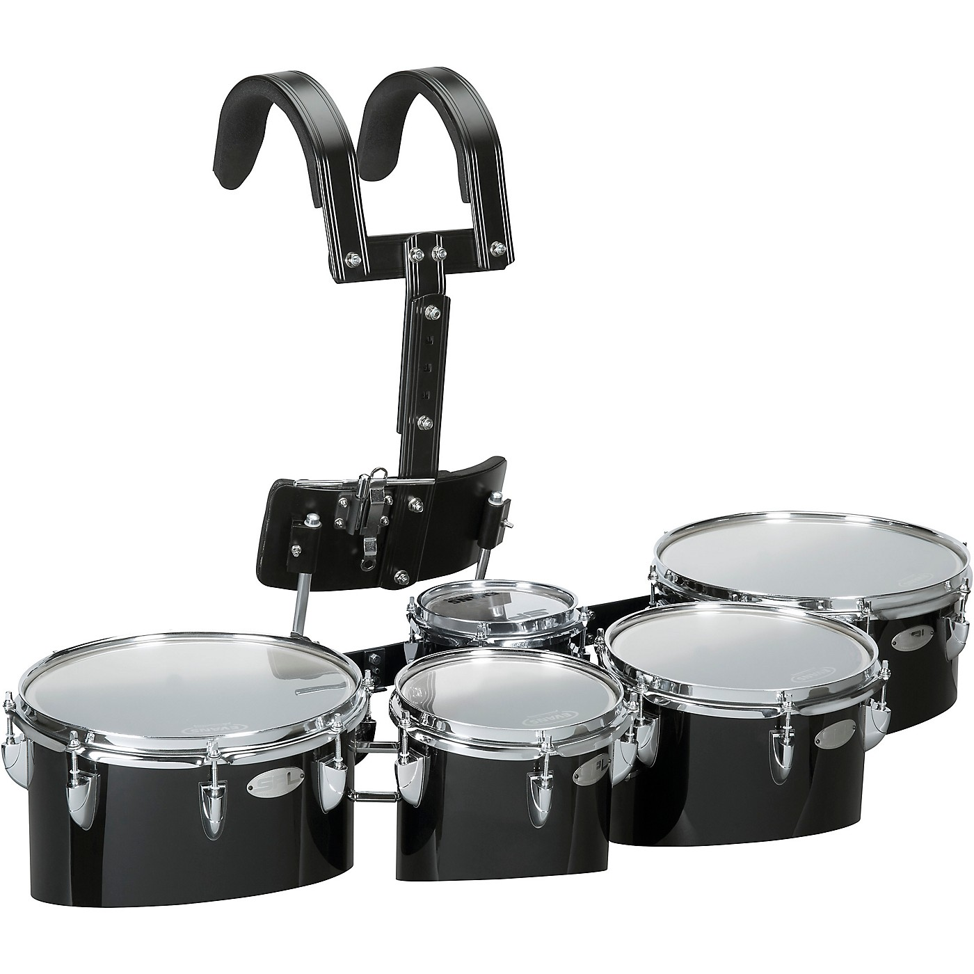 Sound Percussion Labs Birch Marching Quints with Carrier 6/8/10/12/13 thumbnail