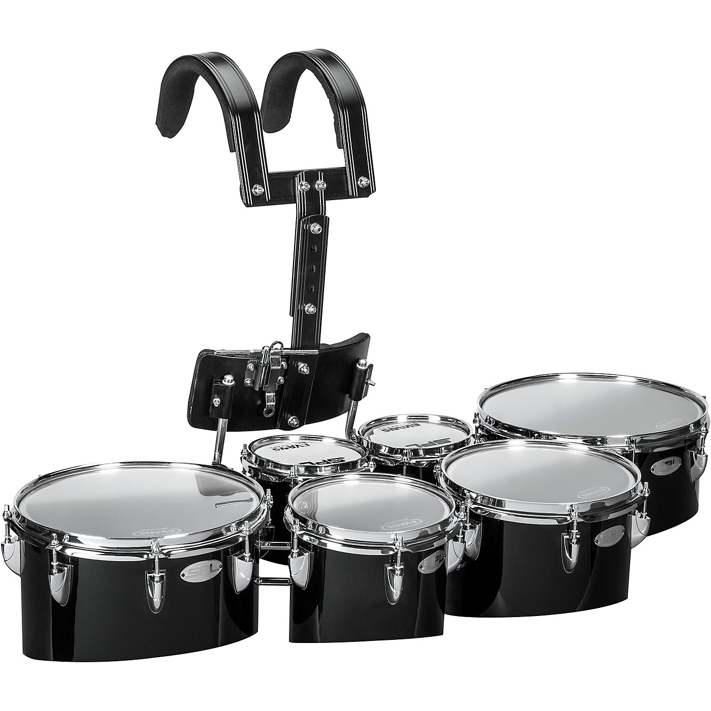 Sound Percussion Labs Birch Marching Sextets with Carrier 6/6/8/10/12/13 thumbnail