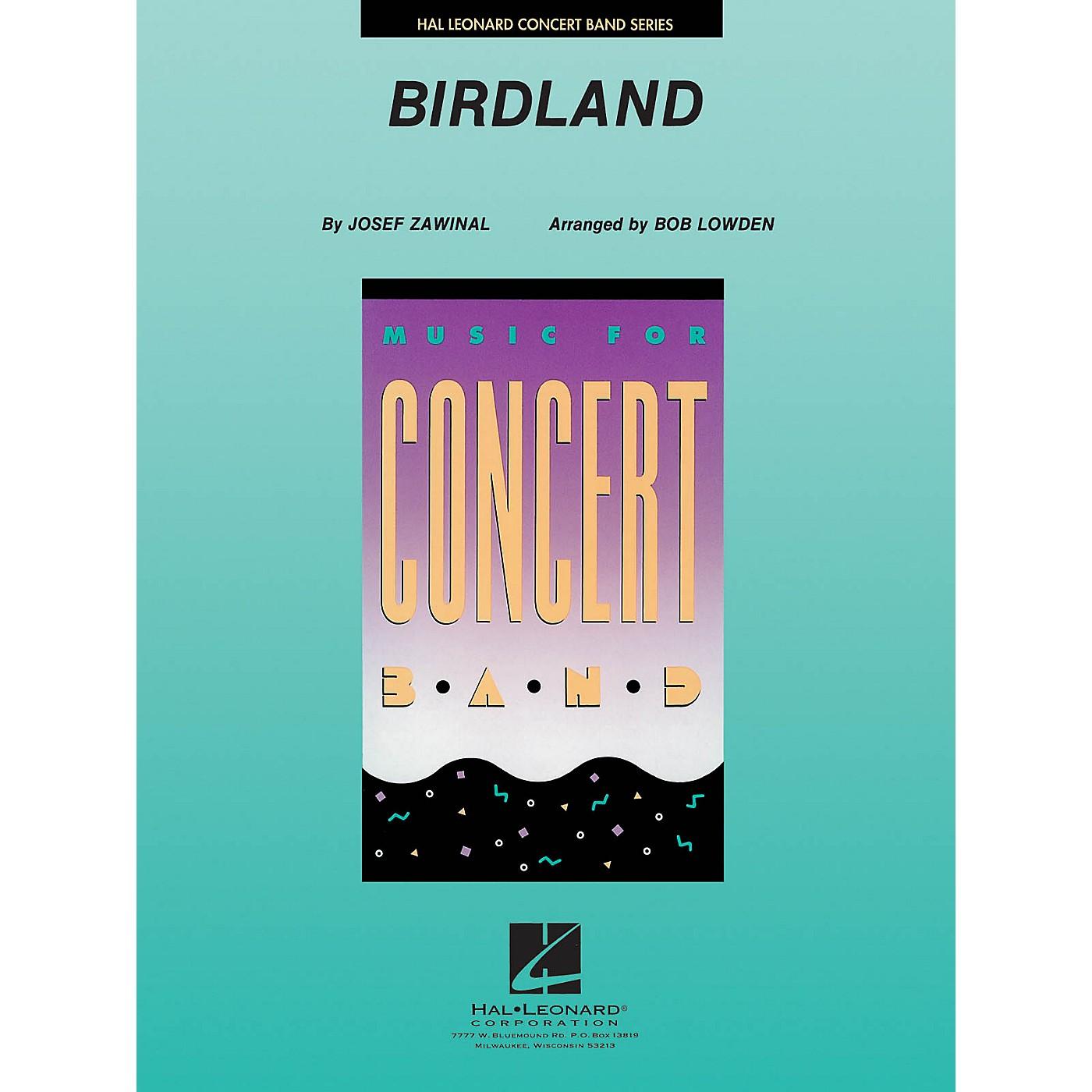Hal Leonard Birdland Concert Band Level 4 Arranged by Bob Lowden thumbnail