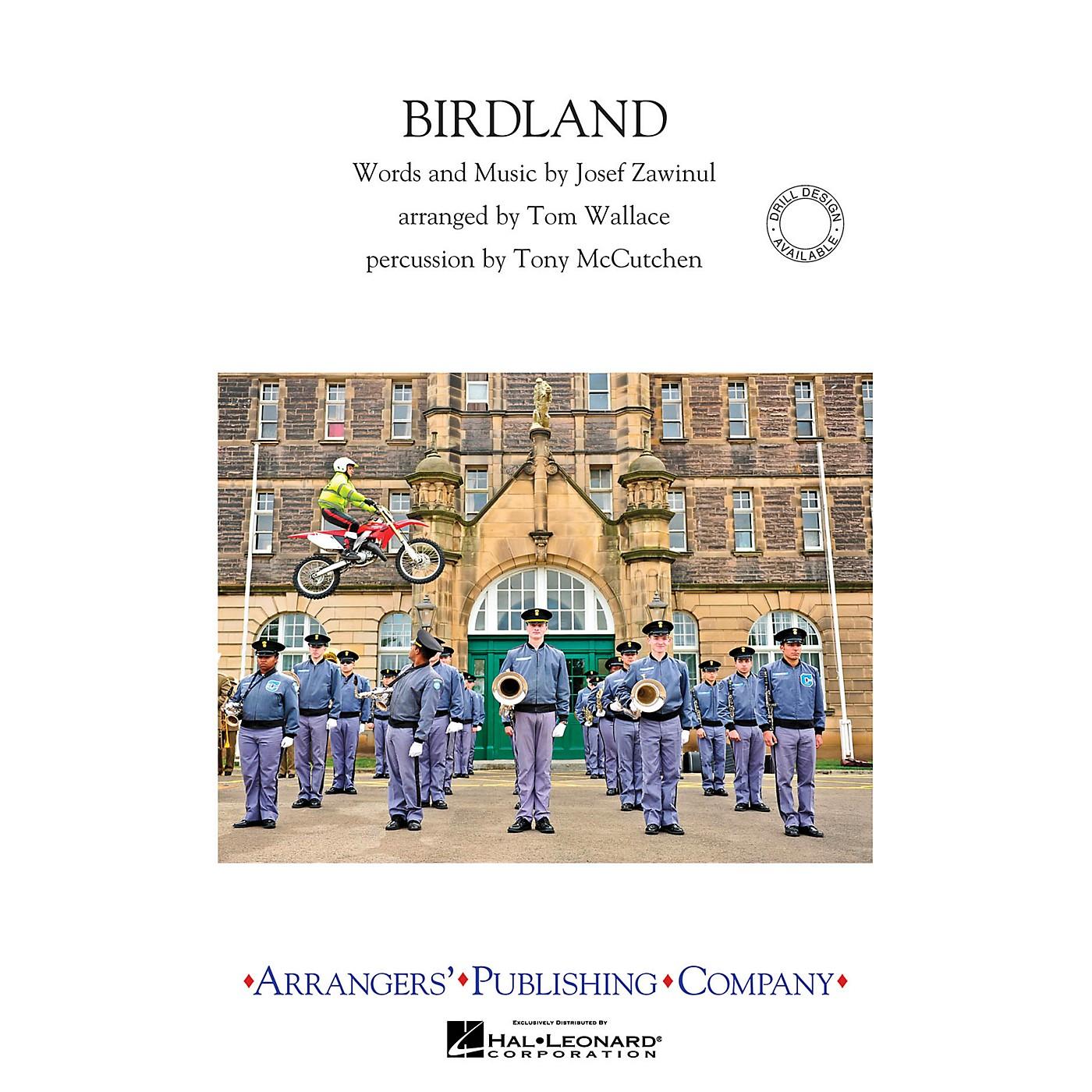 Arrangers Birdland Marching Band Level 3 Arranged by Tom Wallace thumbnail