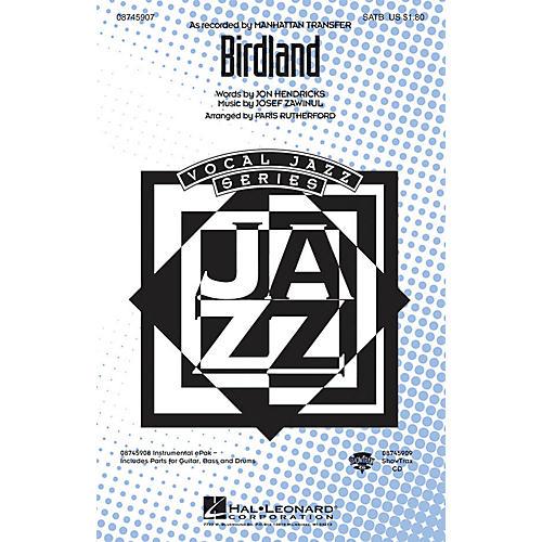 Hal Leonard Birdland SATB arranged by Paris Rutherford thumbnail