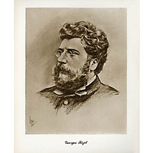 Music Sales Bizet (Lupas Large Portrait Poster) Music Sales America Series