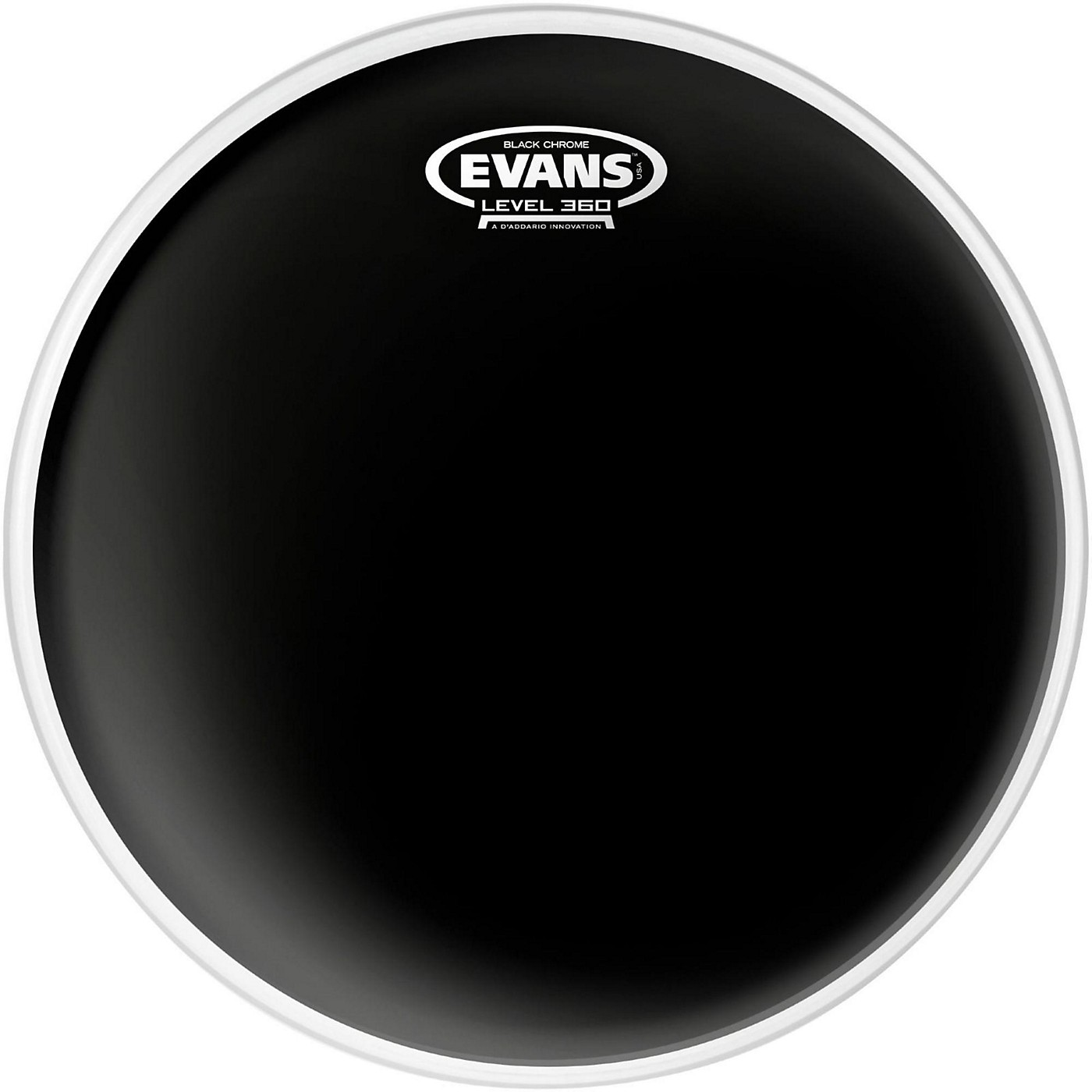 Evans Black Chrome Tom Batter Drumhead thumbnail