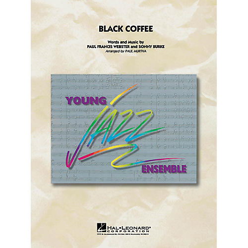 Hal Leonard Black Coffee Jazz Band Level 3 Arranged by Paul Murtha thumbnail