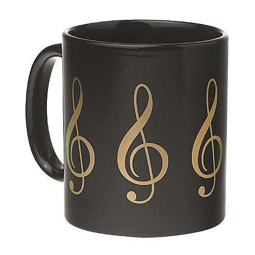 AIM Black/Gold Treble Clef Coffee Mug thumbnail