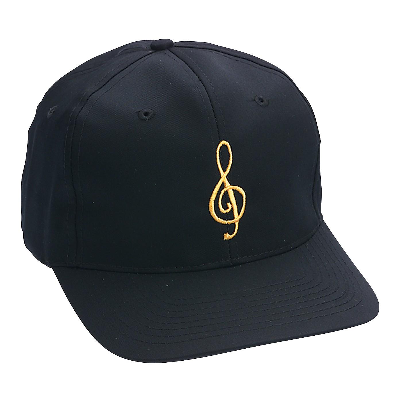 AIM Black/Gold Treble Clef Hat thumbnail