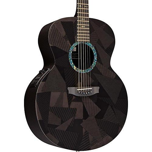 RainSong Black Ice Series BIJM1000N2 Graphite Acoustic-Electric Guitar thumbnail