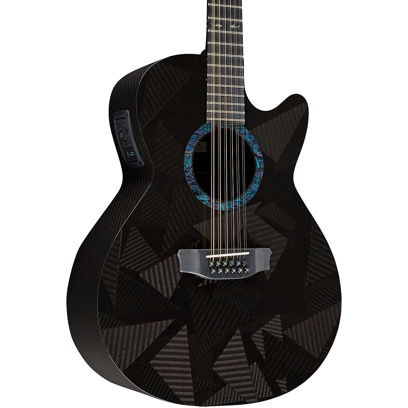 Rainsong Black Ice Series WS 12-String Acoustic-Electric Guitar thumbnail