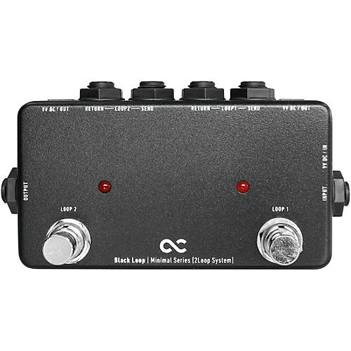 One Control Black Loop 2-Channel Loop Switcher thumbnail