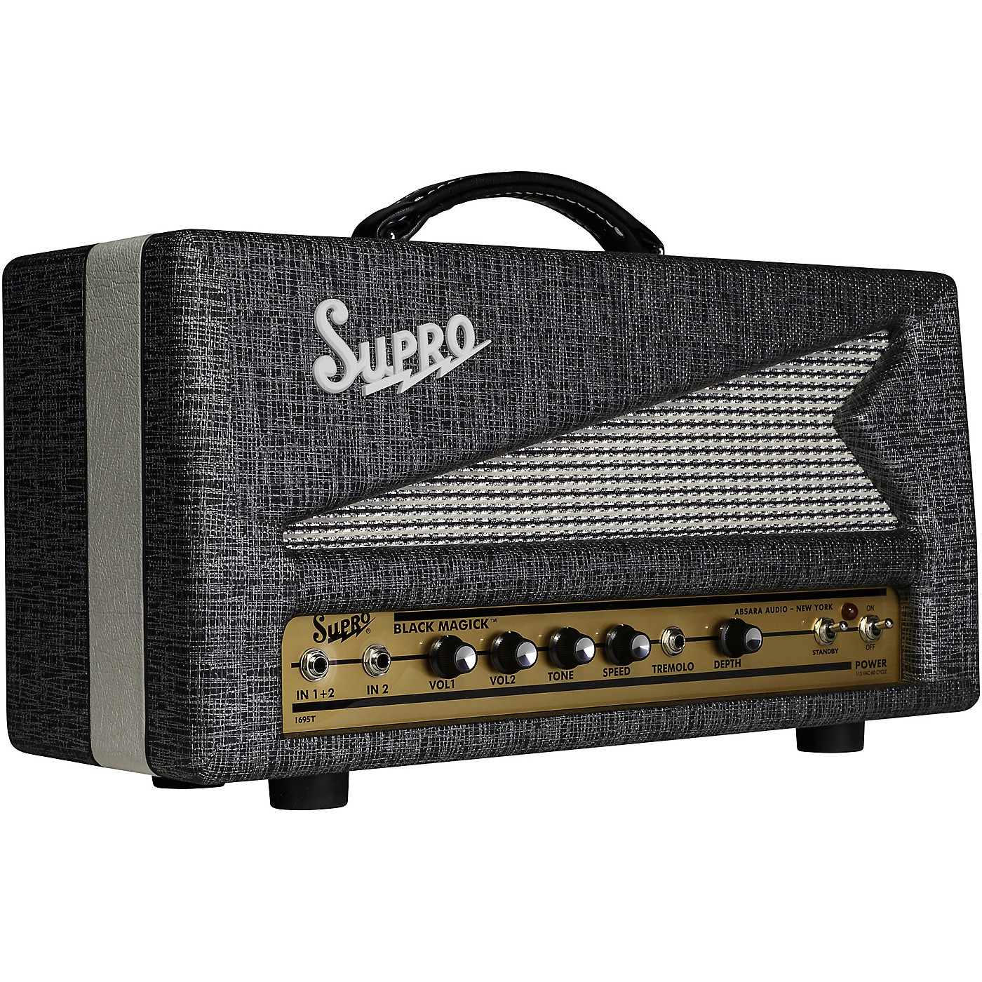Supro Black Magick 25W Tube Guitar Amp Head thumbnail