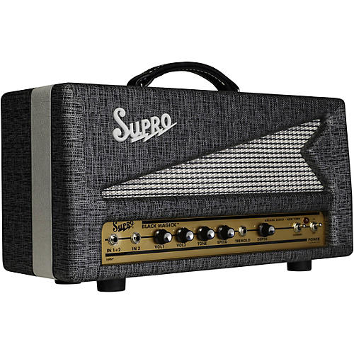 Supro Black Magick 25W Tube Guitar Amp Head thumbnail