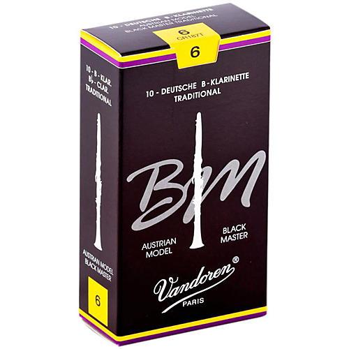 Vandoren Black Master Traditional Bb Clarinet Reeds thumbnail