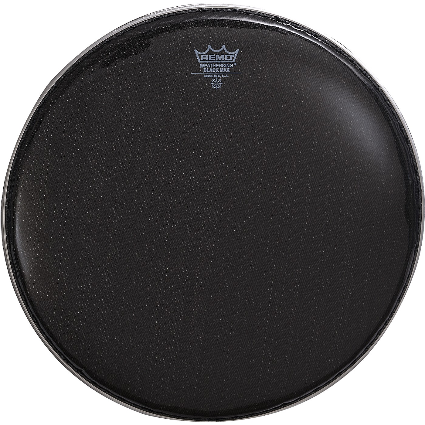 Remo Black Max Crimped Marching Snare Drum Head thumbnail