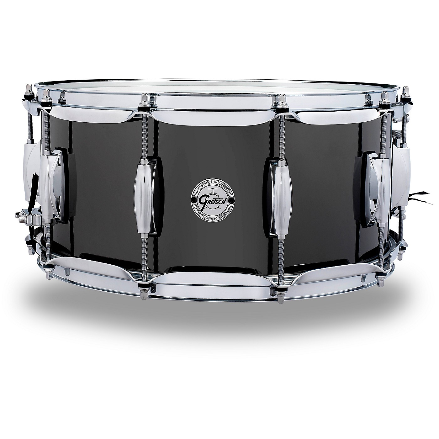 Gretsch Drums Black Nickel Over Steel Snare Drum thumbnail