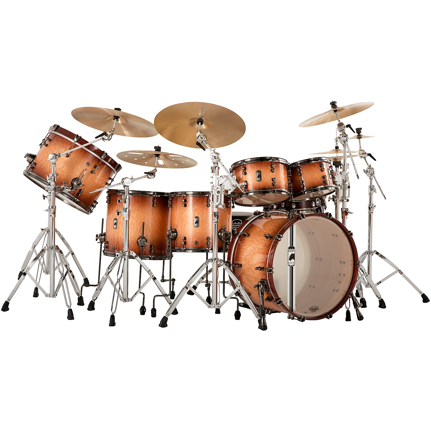 Mapex Black Panther Design Lab Versatus 6-Piece Shell Pack thumbnail