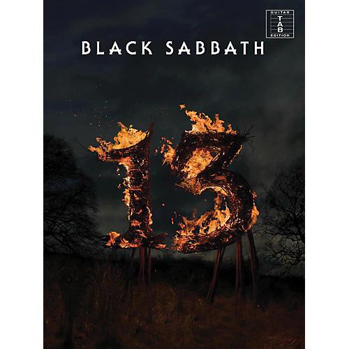 Music Sales Black Sabbath - 13 Guitar Tab Songbook thumbnail