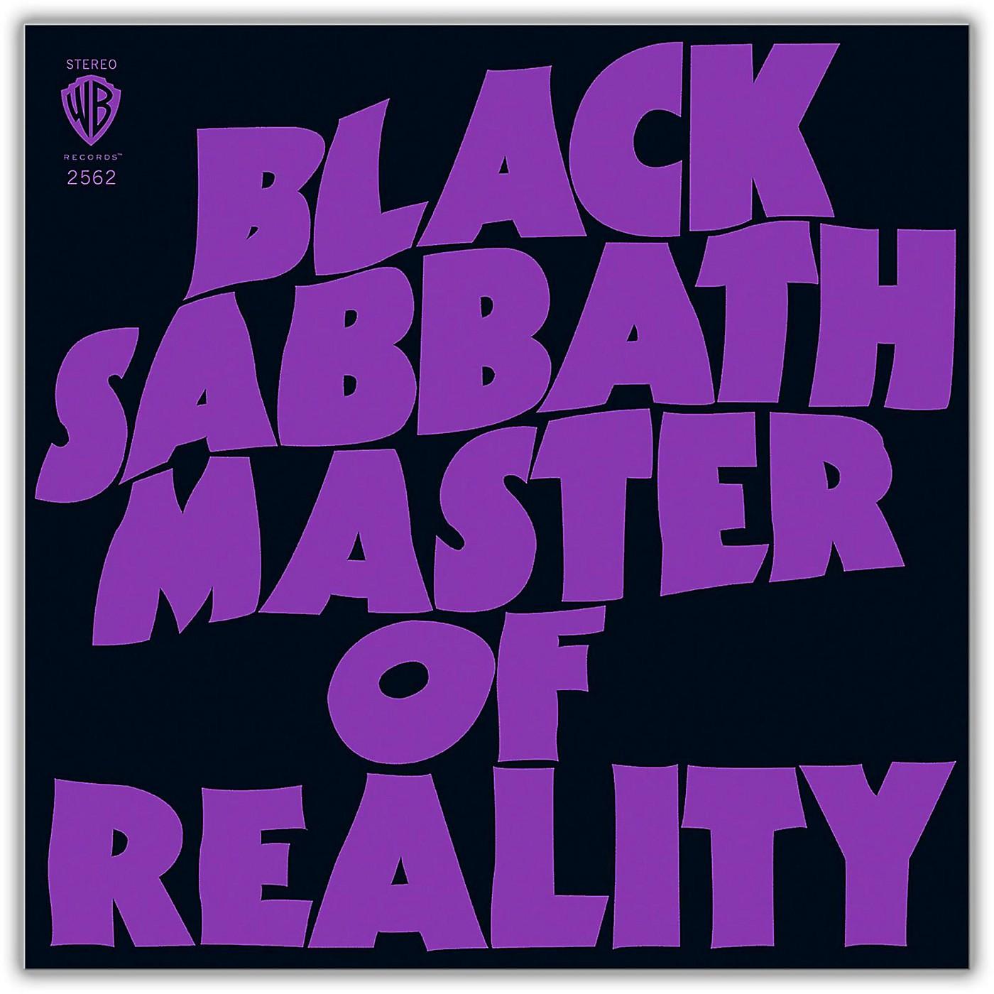 WEA Black Sabbath - Master Of Reality Deluxe Edition 2LP 180 Gram Vinyl thumbnail