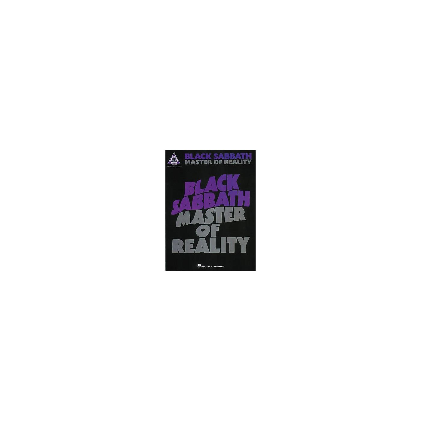 Hal Leonard Black Sabbath - Master of Reality thumbnail