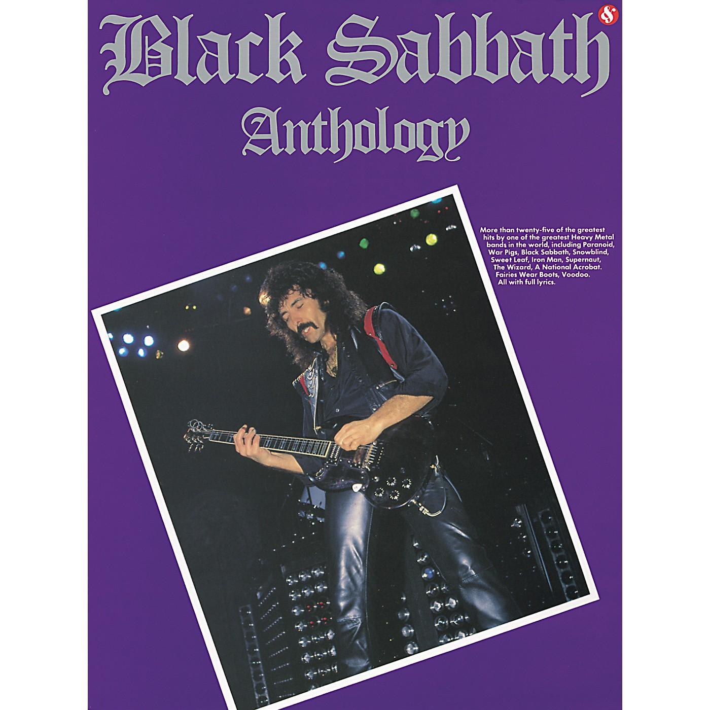 Music Sales Black Sabbath Anthology Guitar Tab (Book) thumbnail