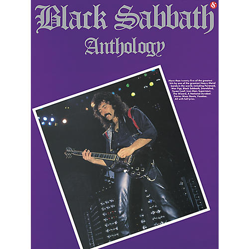 Music Sales Black Sabbath Anthology Guitar Tab (Book) thumbnail