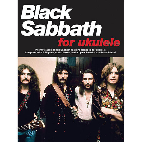 Music Sales Black Sabbath For Ukulele Songbook thumbnail