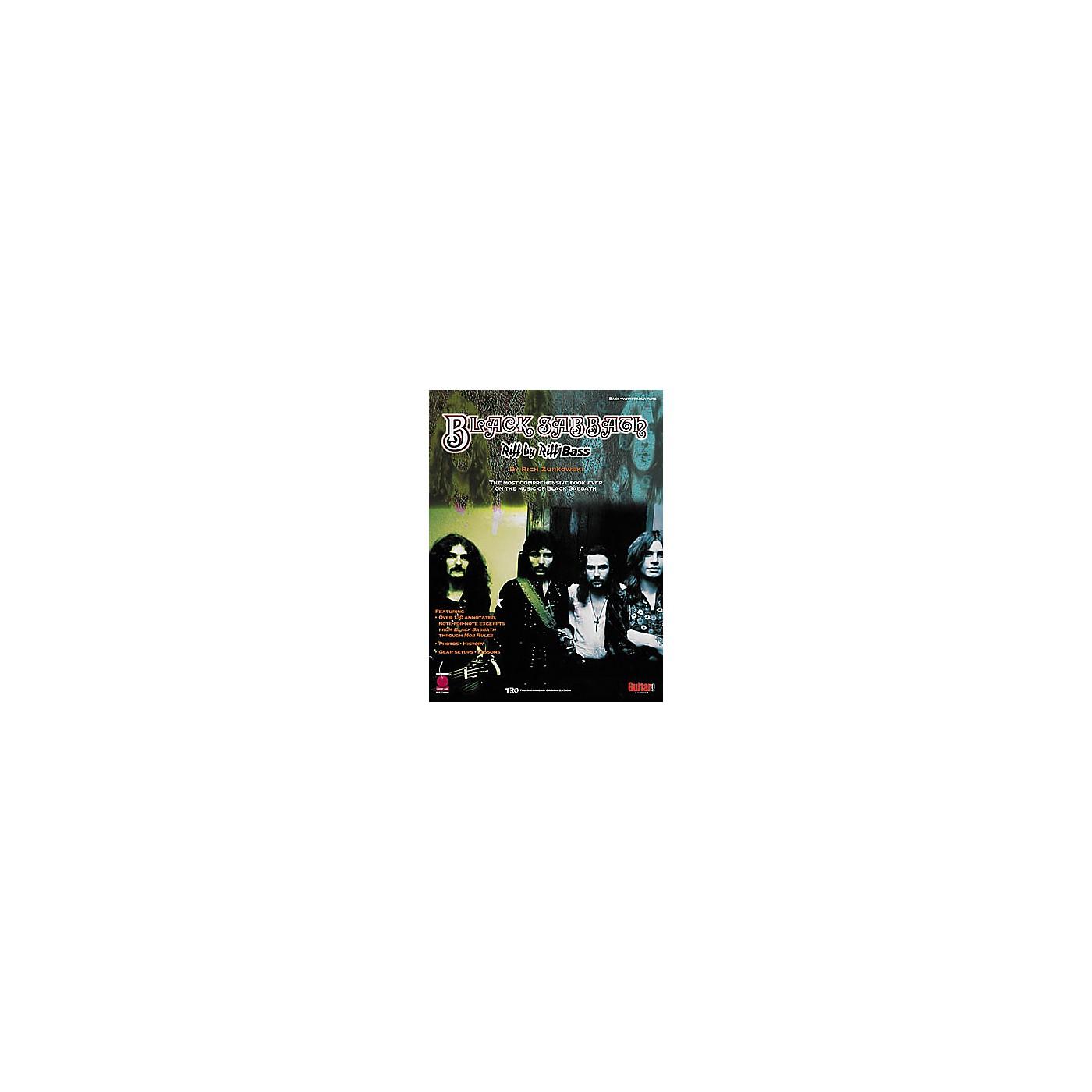 Cherry Lane Black Sabbath Riff by Riff Bass Guitar Tab Songbook thumbnail