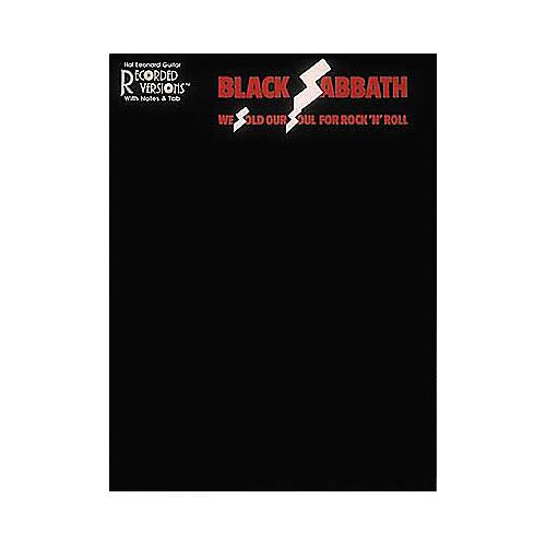 Hal Leonard Black Sabbath We Sold Our Soul for Rock 'n' Roll Guitar Tab Book thumbnail