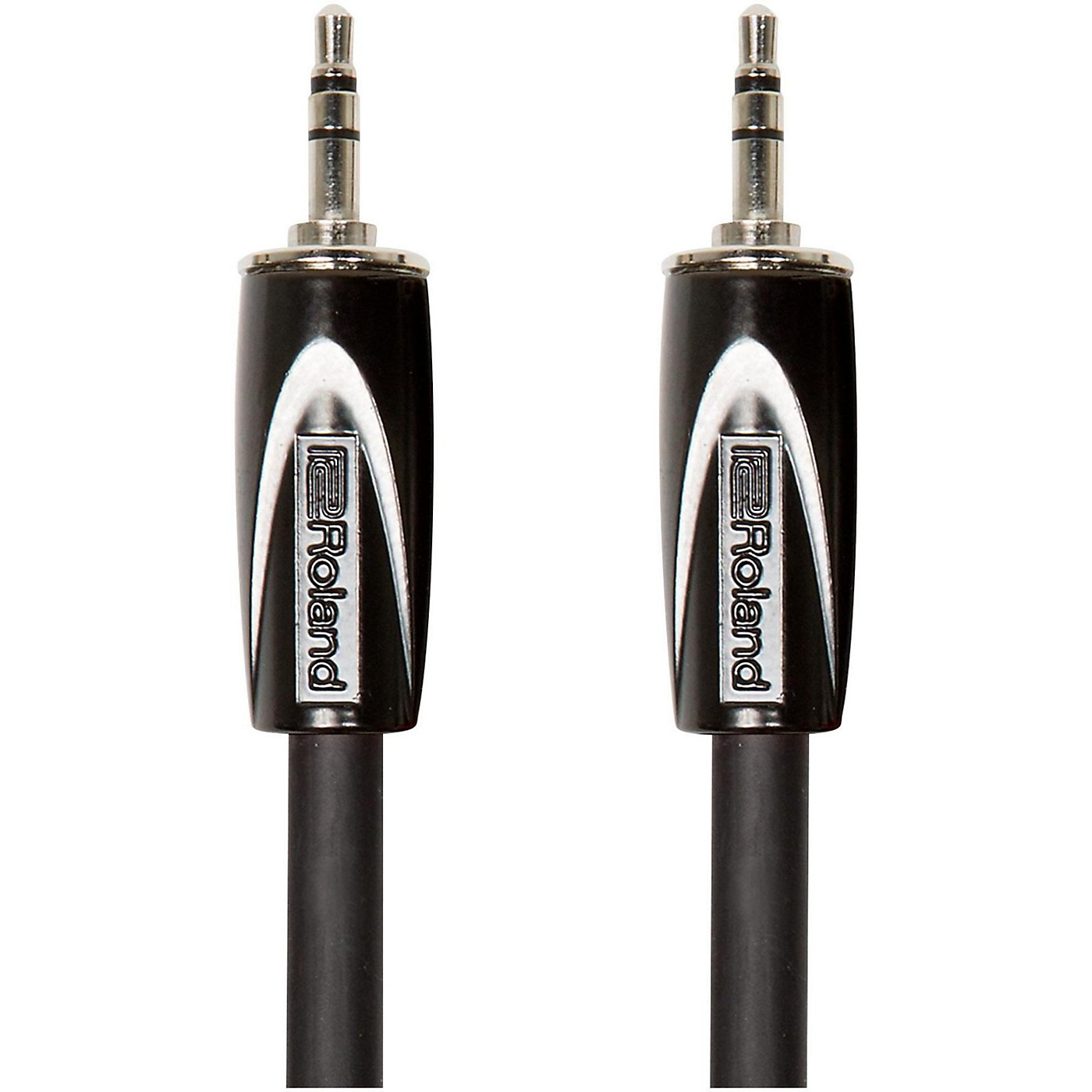 Roland Black Series 3.5mm TRS-3.5mm TRS Balanced Interconnect Cable thumbnail