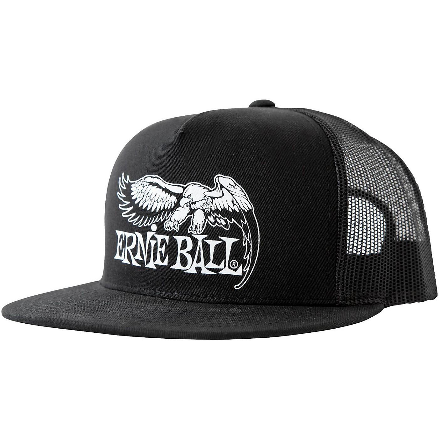 Ernie Ball Black Trucker Cap w/ Ernie Ball Eagle thumbnail