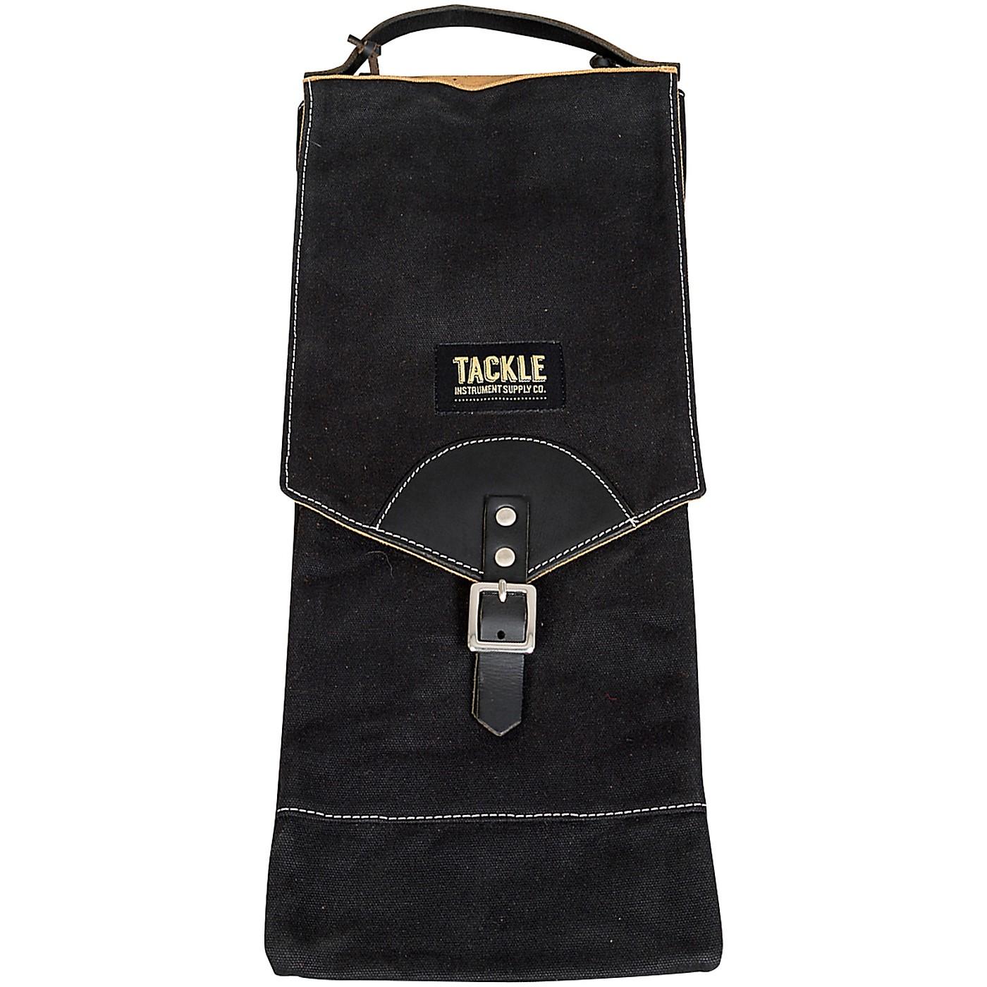 Tackle Instrument Supply Black Waxed Canvas Compact Stick Bag thumbnail