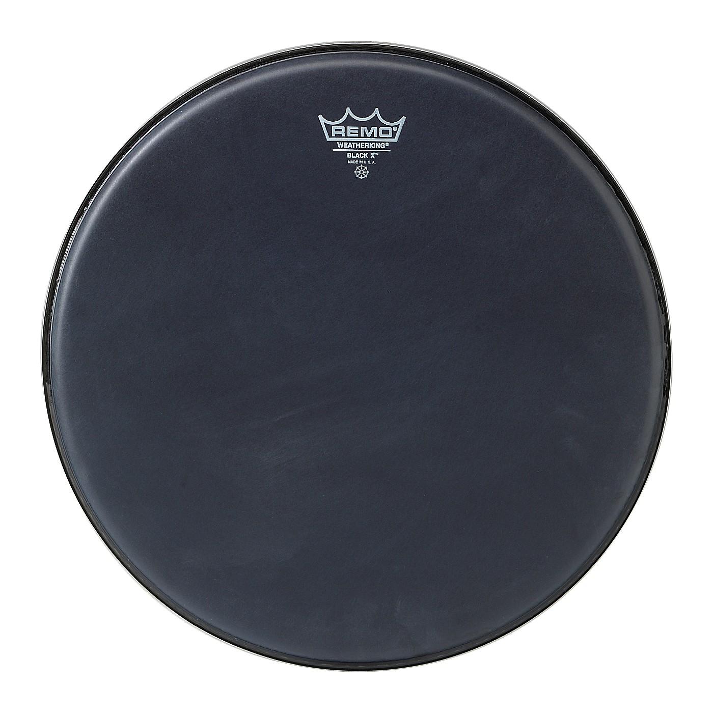 Remo Black X Batter Drumhead thumbnail