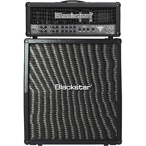 Blackstar Blackfire 200 Gus G Signature 200W Guitar Head with 412 240W 4x12 Slant Guitar Speaker Cabinet thumbnail