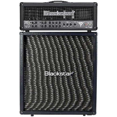 Blackstar Blackfire 200 Gus G Signature 200W Guitar Head with 412 240W 4x12 Straight Guitar Speaker Cabinet thumbnail
