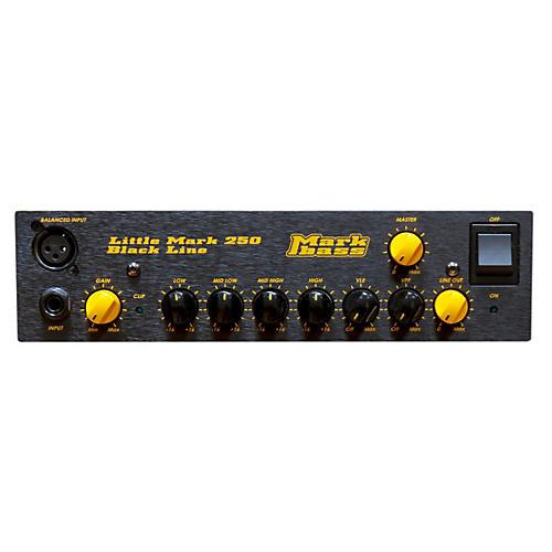 Markbass Blackline Little Mark 250 250W Bass Amp Head thumbnail