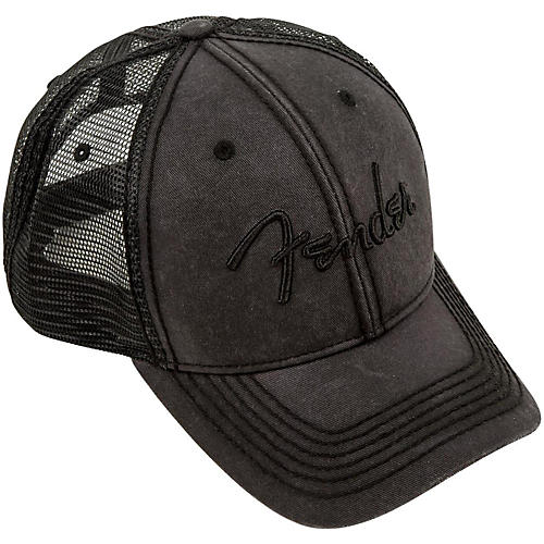 Fender Blackout Trucker Hat thumbnail