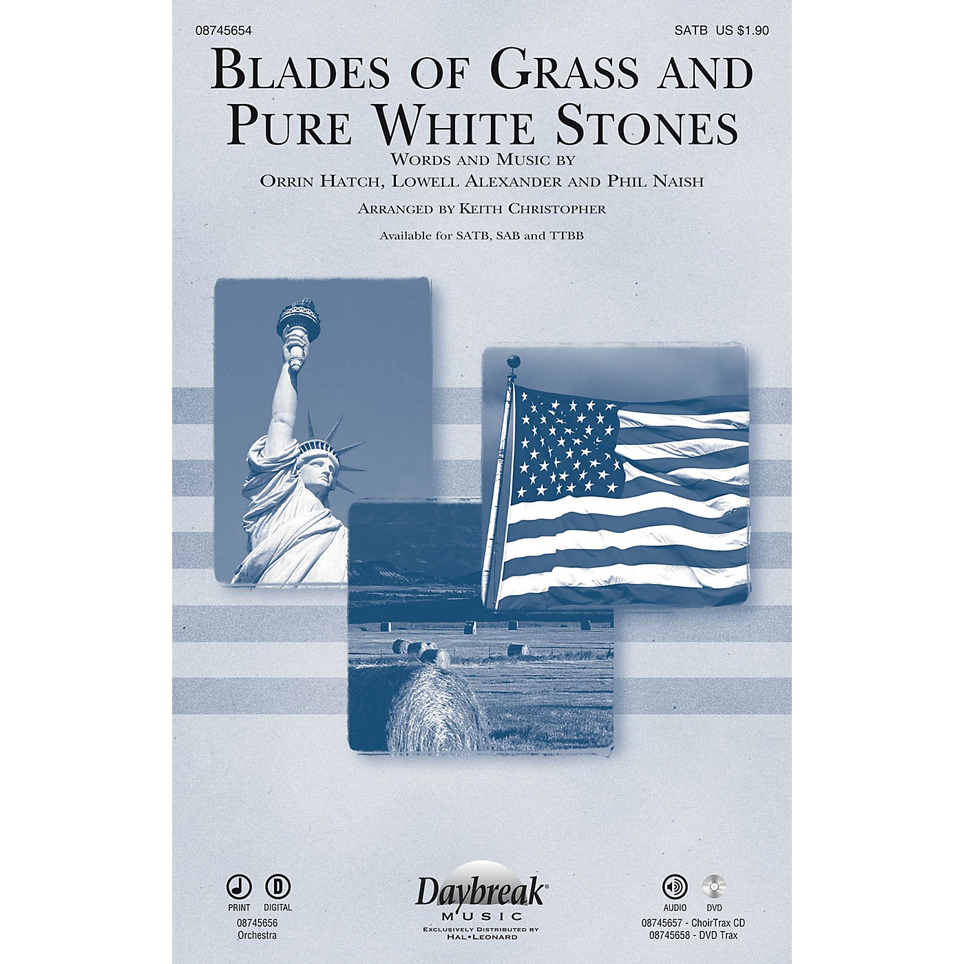 Daybreak Music Blades of Grass and Pure White Stones DVD Track Arranged by Keith Christopher thumbnail