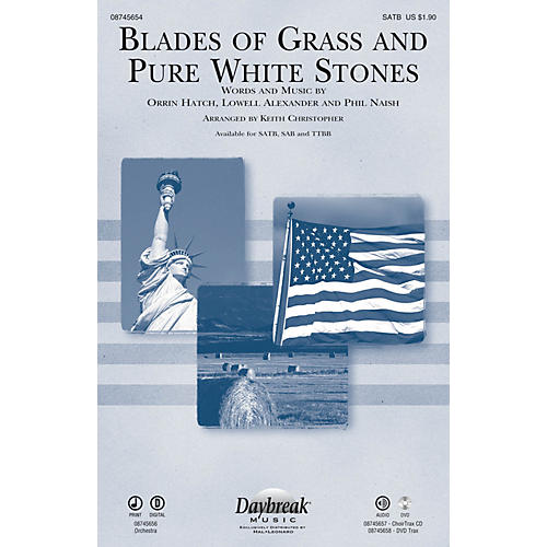 Daybreak Music Blades of Grass and Pure White Stones TTBB Arranged by Keith Christopher thumbnail