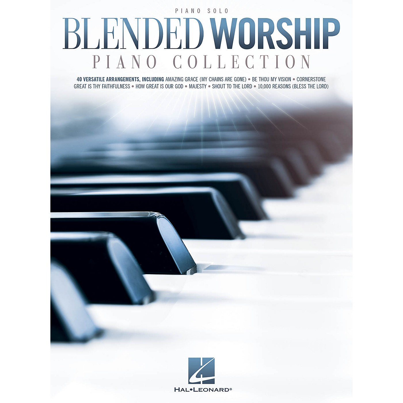 Hal Leonard Blended Worship Piano Collection Piano Solo Songbook thumbnail
