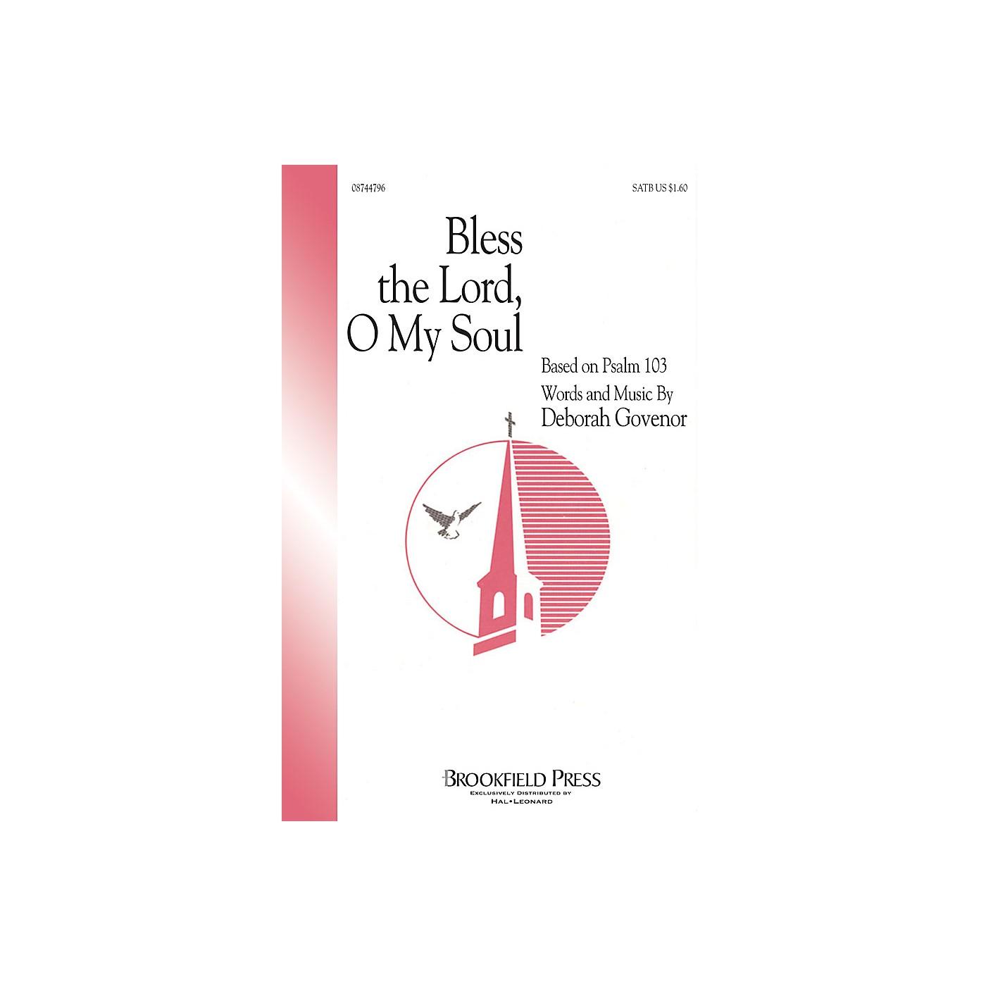 Hal Leonard Bless The Lord, O My Soul (SATB) SATB composed by Deborah Govenor thumbnail