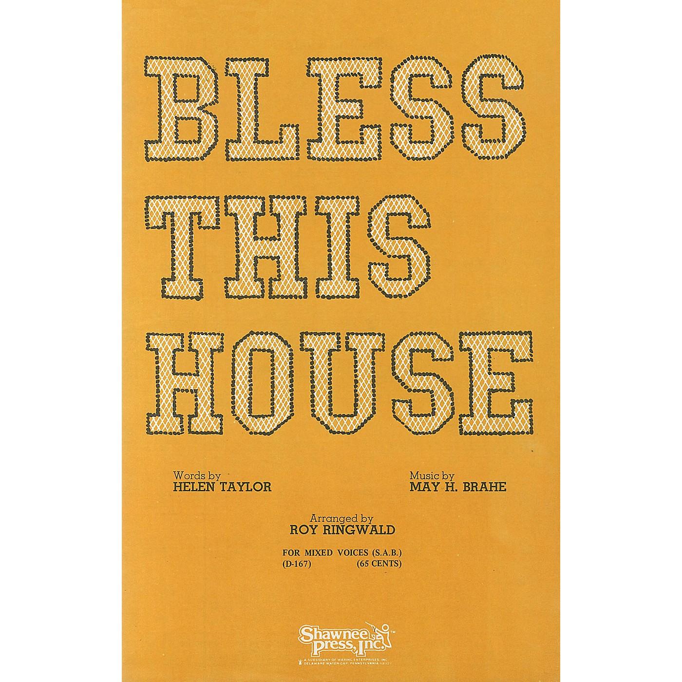 Shawnee Press Bless This House (SAB) SAB composed by Brahe thumbnail