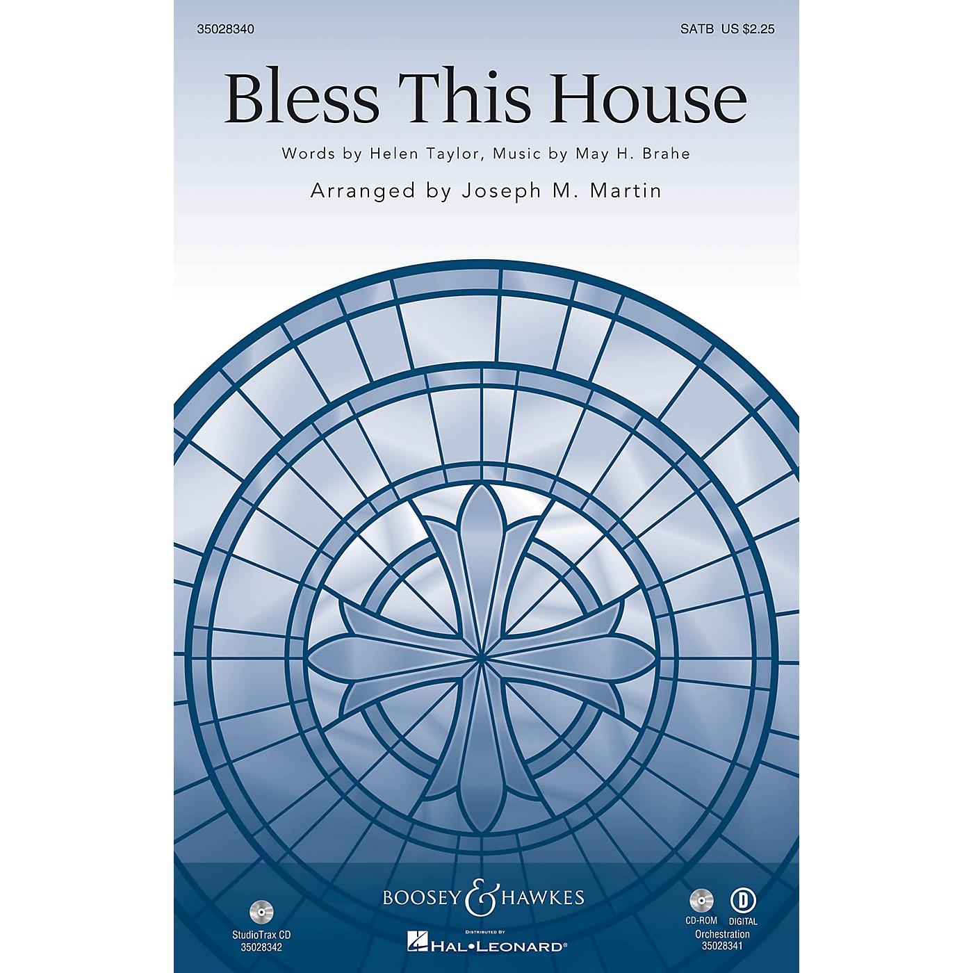 Shawnee Press Bless This House Studiotrax CD Arranged by Joseph M. Martin thumbnail