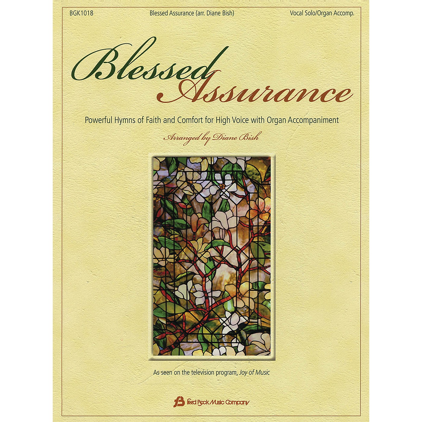 Fred Bock Music Blessed Assurance Fred Bock Publications Series Softcover thumbnail