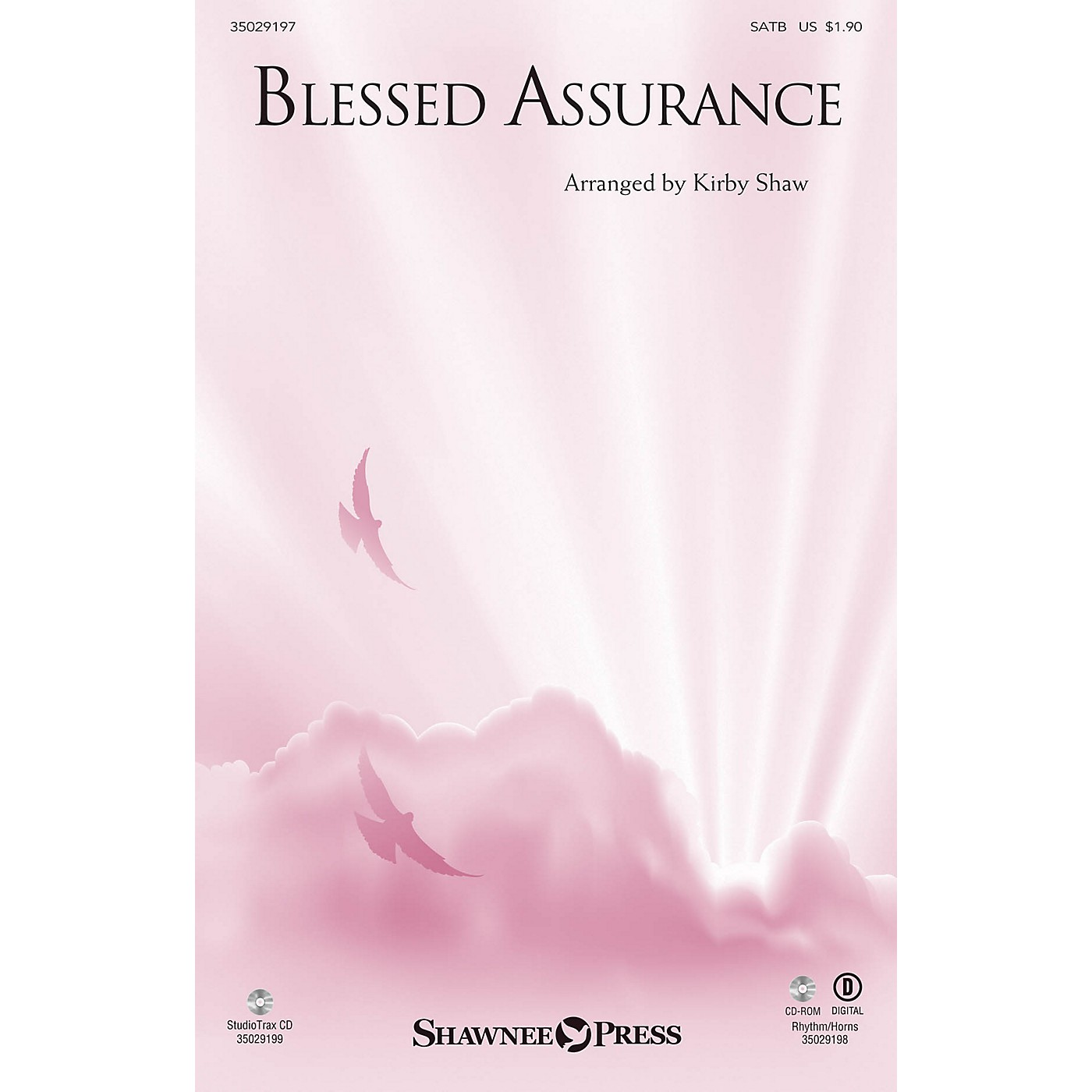 Shawnee Press Blessed Assurance (StudioTrax CD) Studiotrax CD Arranged by Kirby Shaw thumbnail