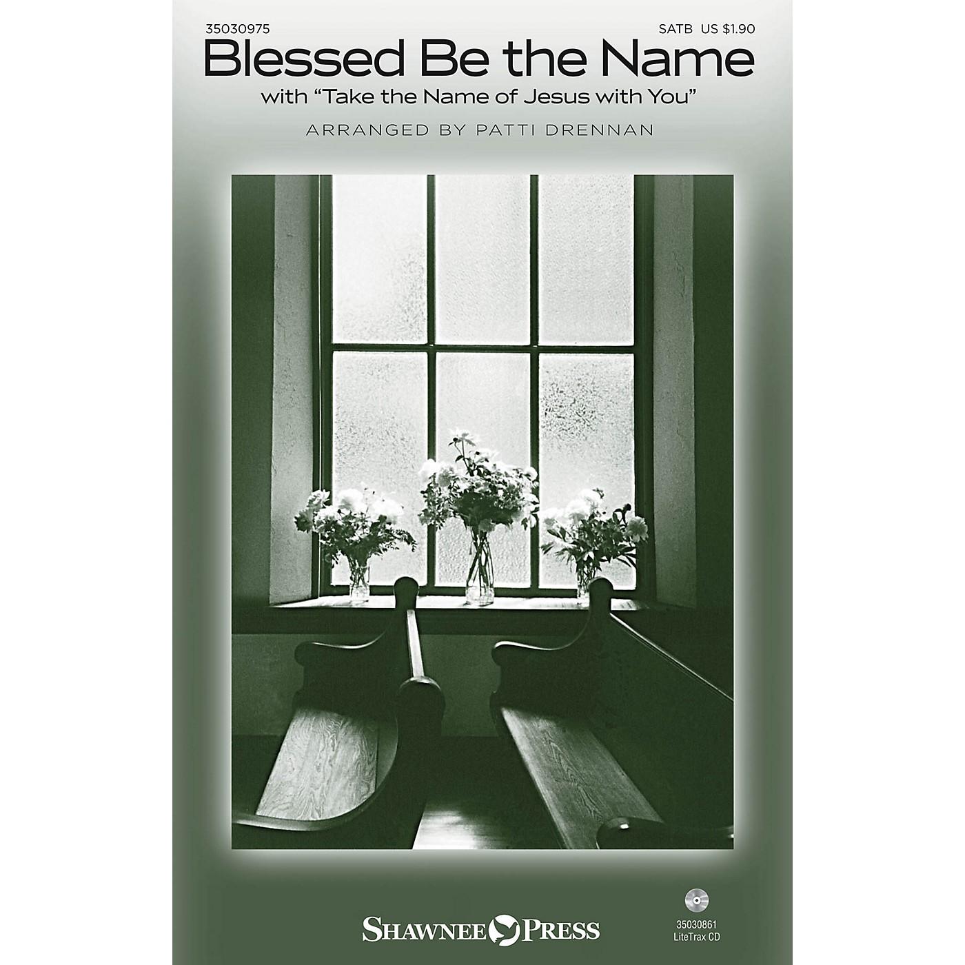 Shawnee Press Blessed Be the Name SATB arranged by Patti Drennan thumbnail
