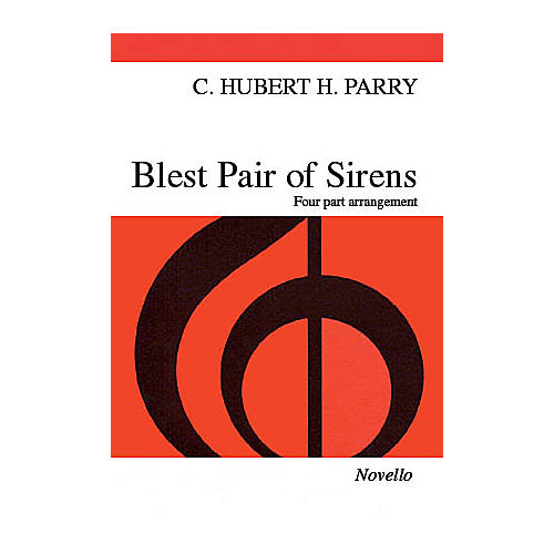Novello Blest Pair of Sirens SATB Arranged by C.S. Lang thumbnail