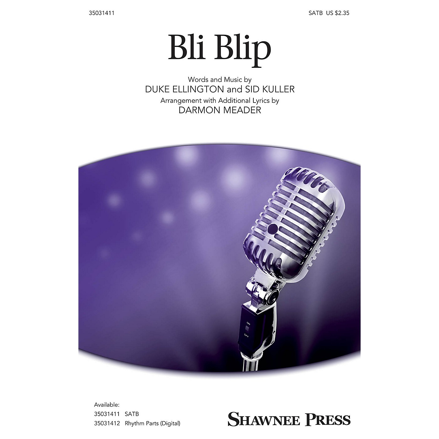 Shawnee Press Bli-blip SATB arranged by Darmon Meader thumbnail