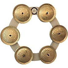 Big Fat Snare Drum Bling Ring - White Copper